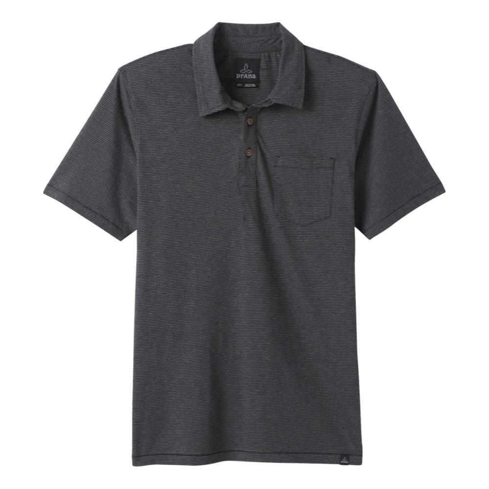 prAna Men's prAna Polo Shirt BLKSTRIPE