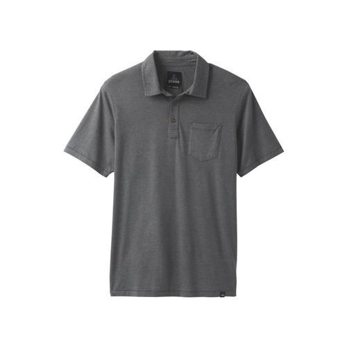 prAna Men's prAna Polo Shirt Charcoal