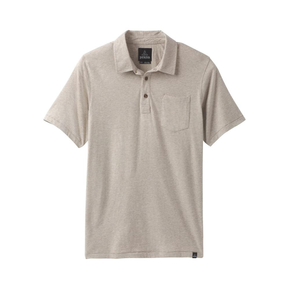 prAna Men's prAna Polo Shirt DARKKHAKI