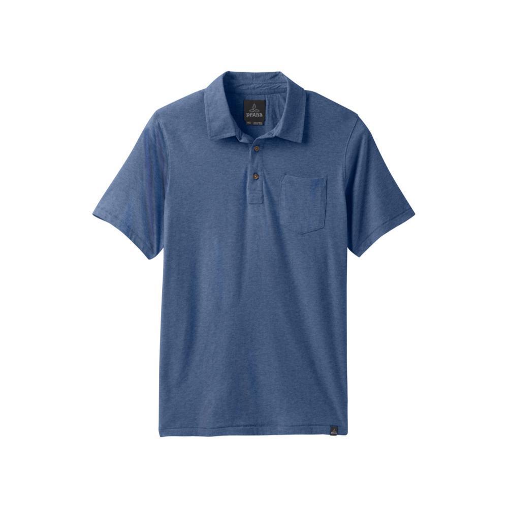 prAna Men's prAna Polo Shirt DENIMHTHR