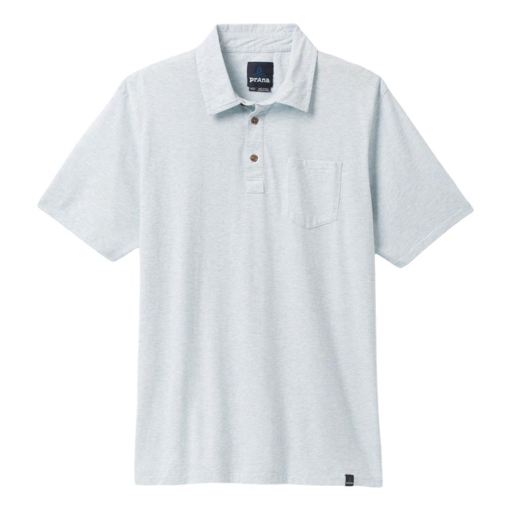 prAna Men's prAna Polo Shirt ICEBLUEHTHR