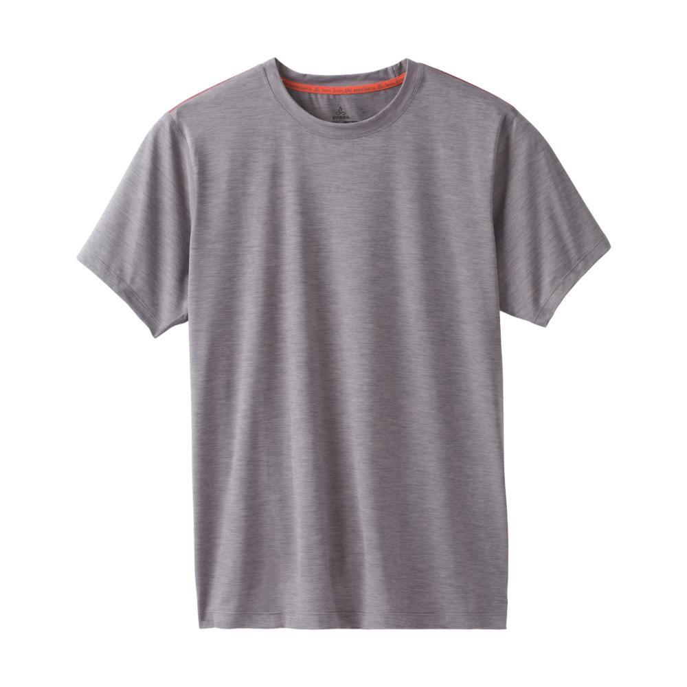 prAna Men's Calder Short Sleeve Shirt GRAVEL
