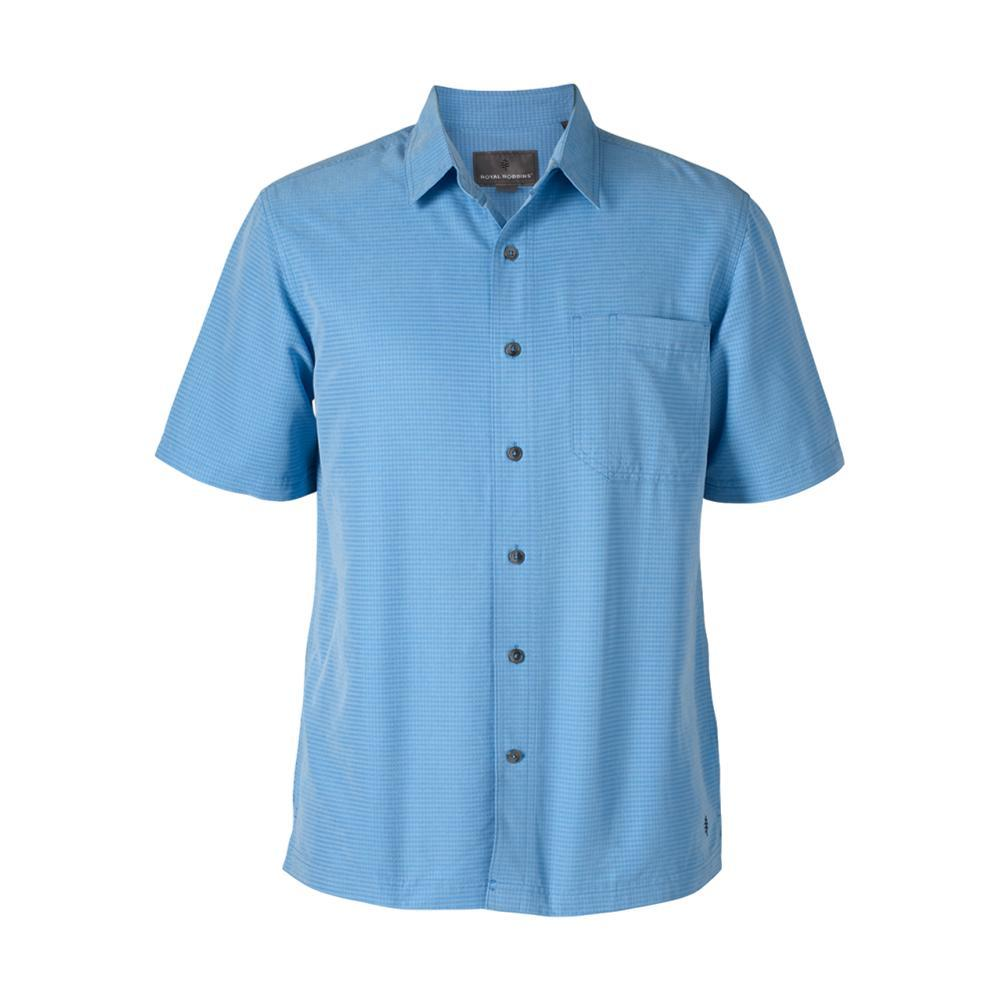 Royal Robbins Men's Desert Pucker Dry Short Sleeve Shirt BLUEJAY749