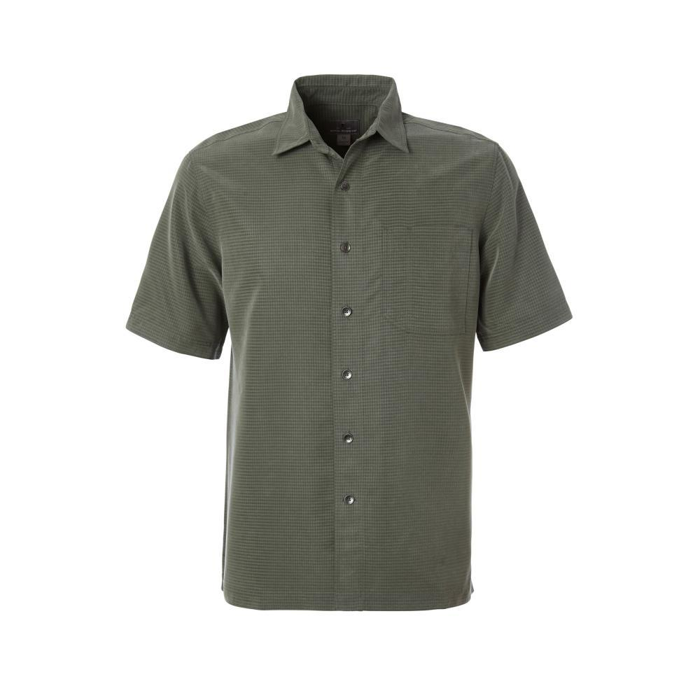 Royal Robbins Men's Desert Pucker Dry Short Sleeve Shirt CLIMBINGIVY