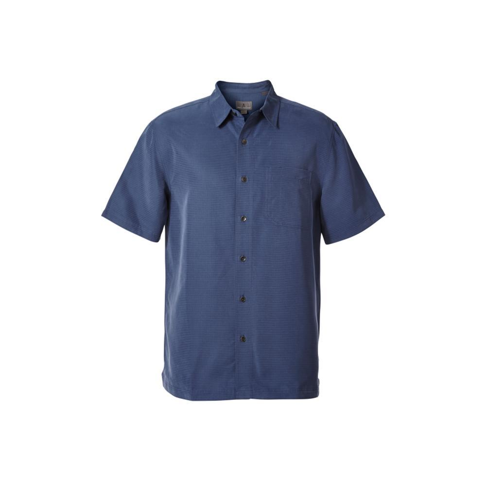Royal Robbins Men's Desert Pucker Dry Short Sleeve Shirt COLLBLUE