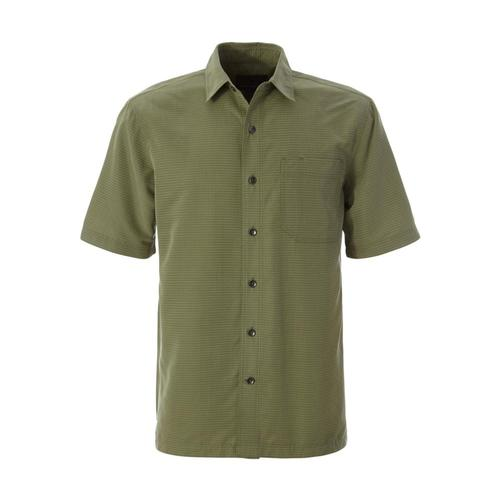 Royal Robbins Men's Desert Pucker Dry Short Sleeve Shirt Ltolive