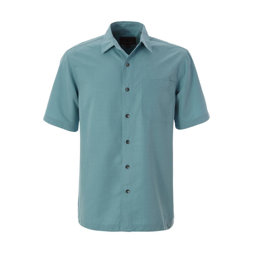 Royal Robbins Men's Desert Pucker Dry Short Sleeve Shirt MILKYBLUE