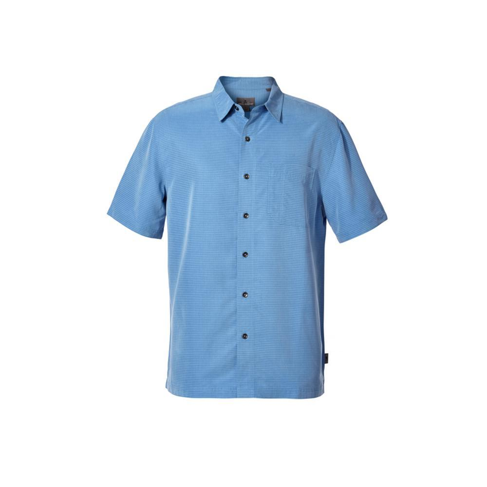 Royal Robbins Men's Desert Pucker Dry Short Sleeve Shirt PARISBLUE