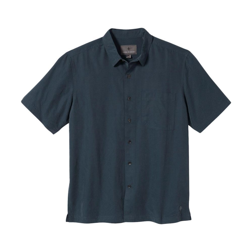 Royal Robbins Men's Desert Pucker Dry Short Sleeve Shirt SLATE_696