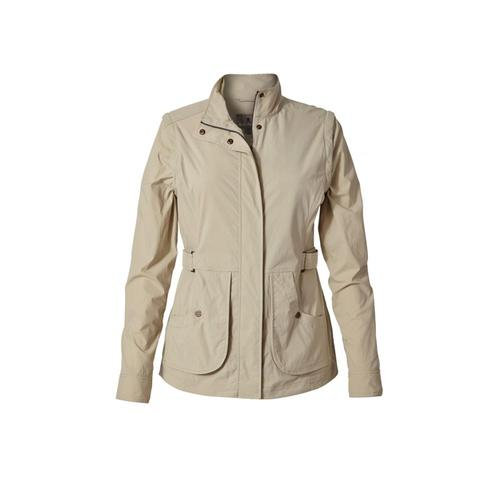 Royal Robbins Women's Discovery Convertible Jacket Sandstone
