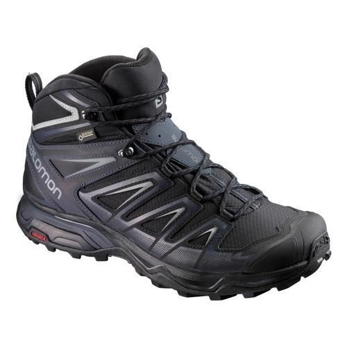 Salomon Men's X Ultra 3 Mid GTX Hiking Shoes Blk.Indik.Mnt