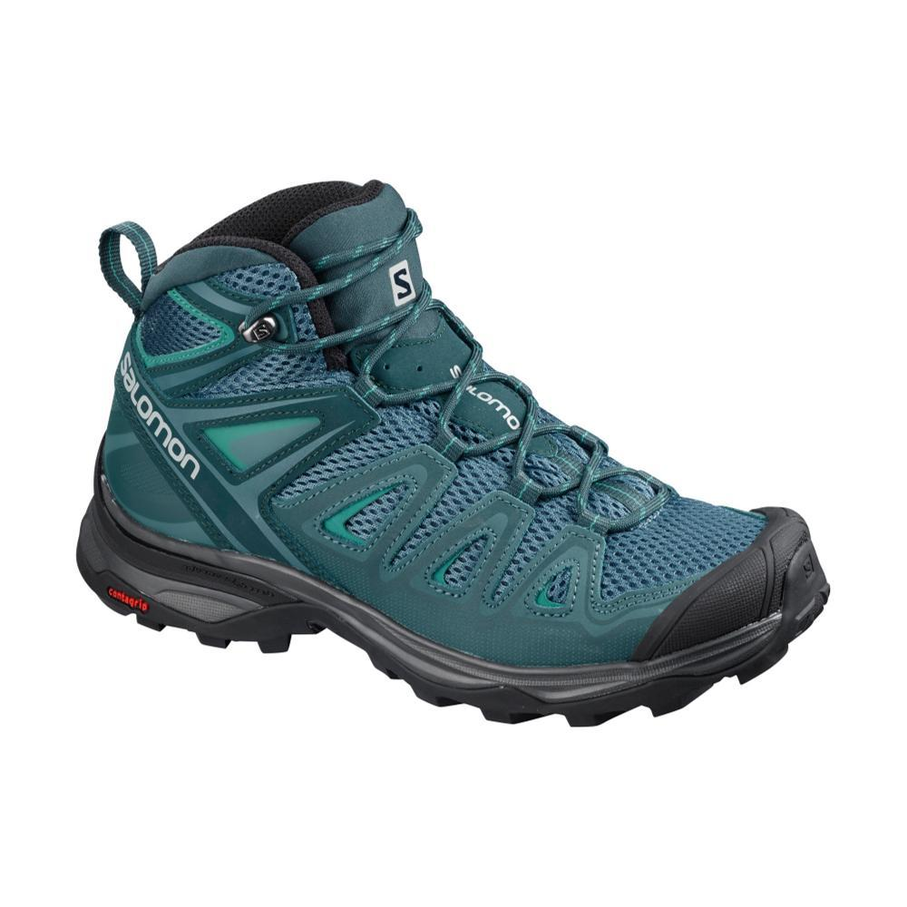 Salomon Women's X Ultra Mid 3 Aero Hiking Boots MALLARD BLUE