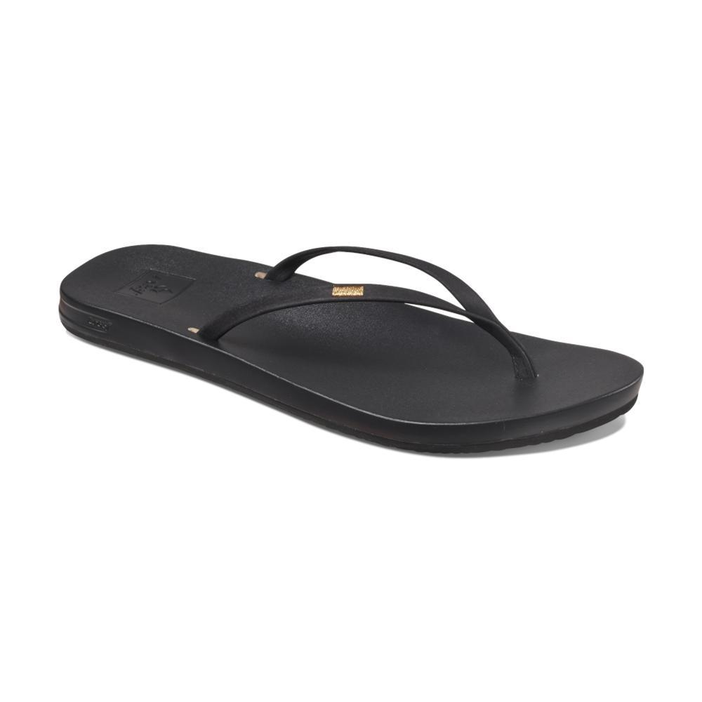 Reef Women's Cushion Bounce Slim Sandals BLACK