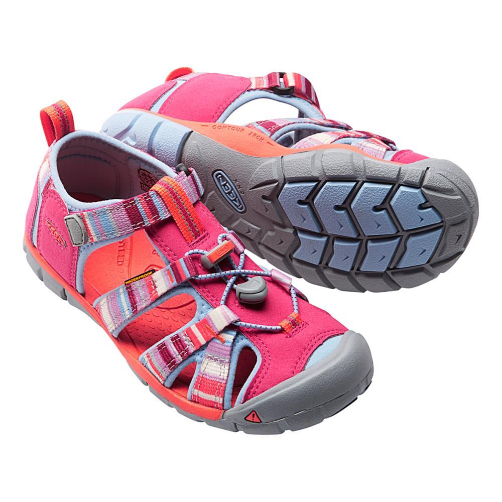 KEEN Youth Seacamp II CNX Sandals BRIGHTROSE