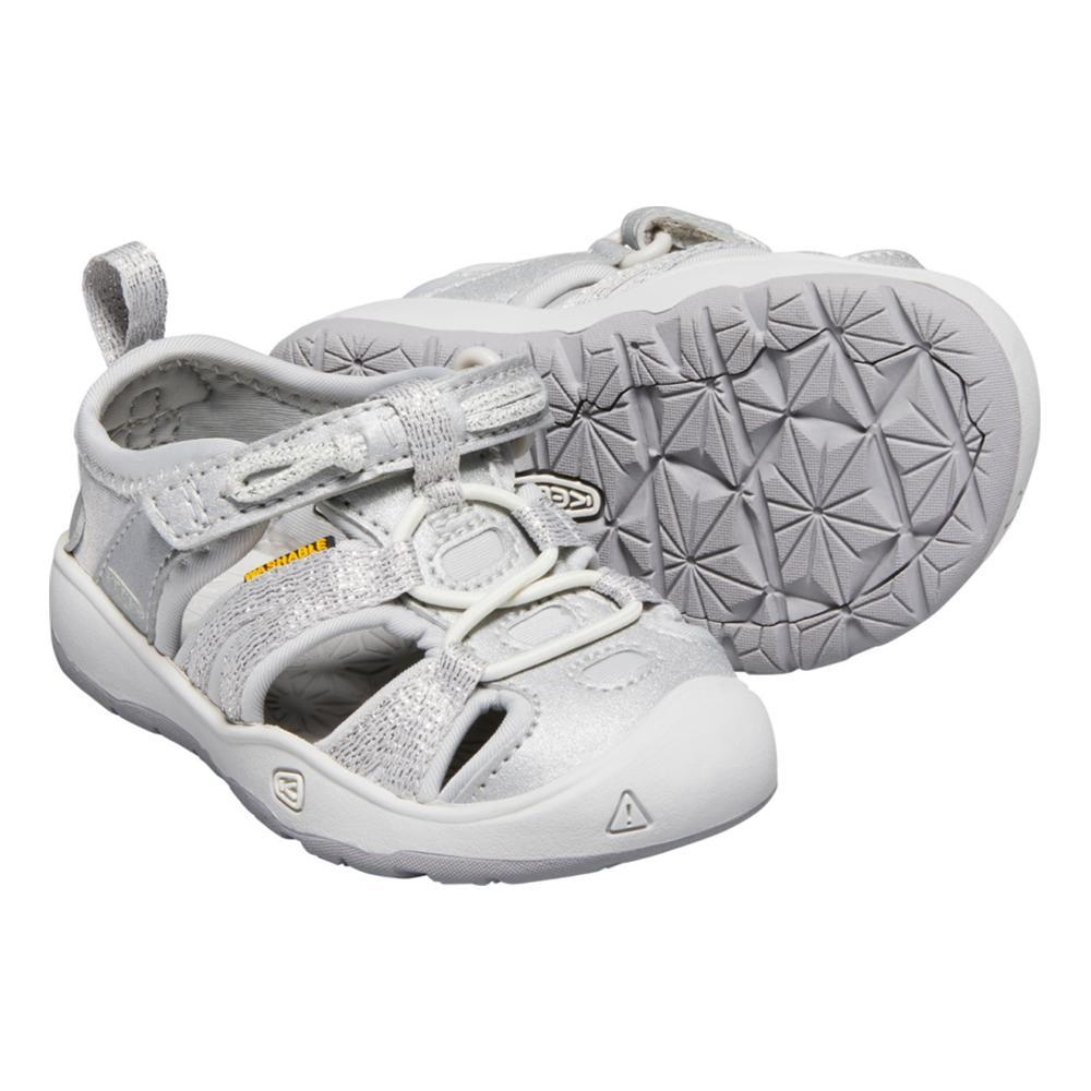 KEEN Toddler Moxie Sandals SILVER