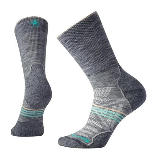 Smartwool Women's PhD Outdoor Light Crew Socks Lightgry_039