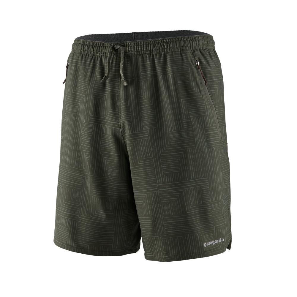 Patagonia Men's Nine Trails Shorts - 8in KELP_BWKF