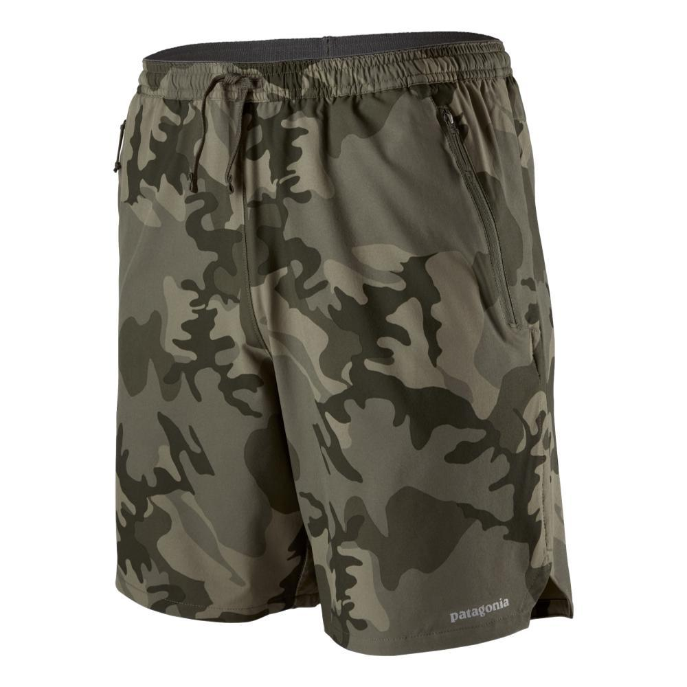 Patagonia Men's Nine Trails Shorts - 8in RIVGRN_RDIG