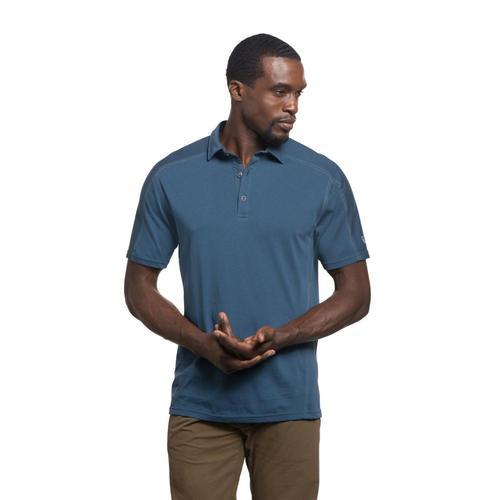 KUHL Men's Wayfarer Polo Shirt Lakeblue