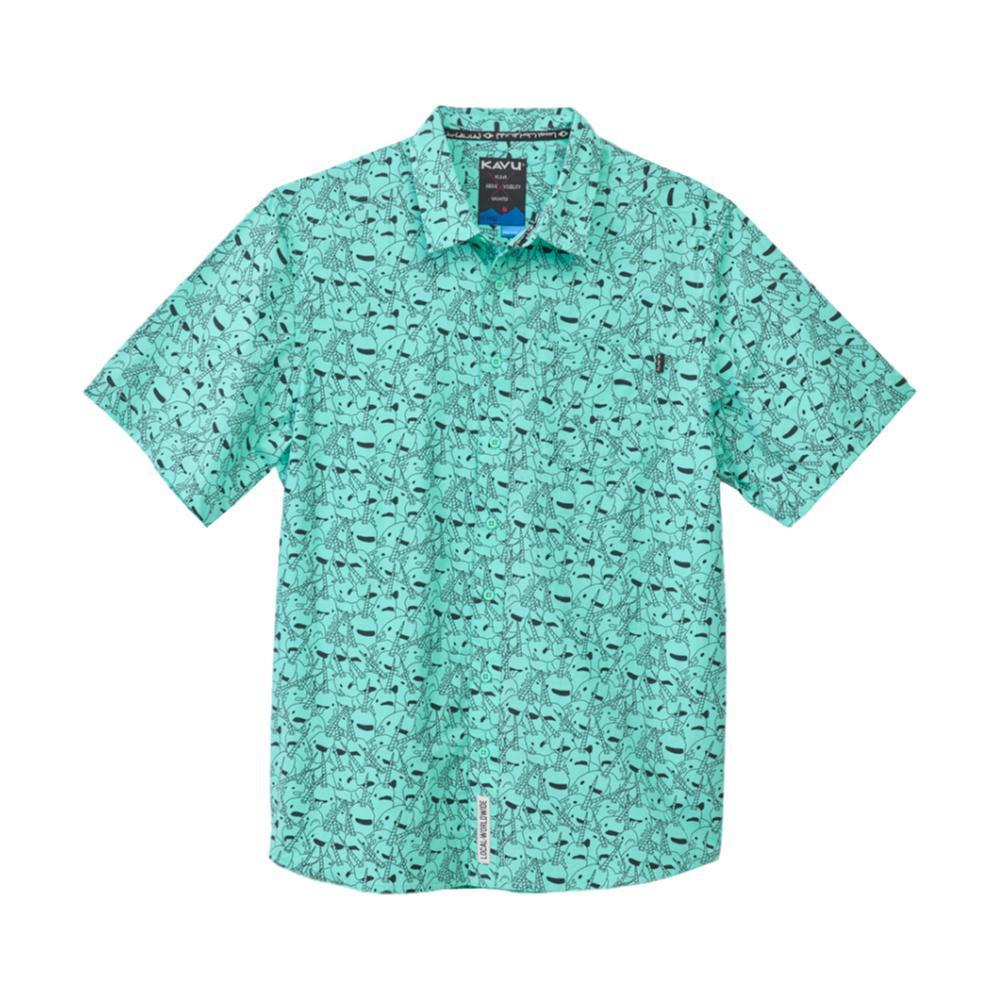 KAVU Men's Festaruski Shirt SEACORN