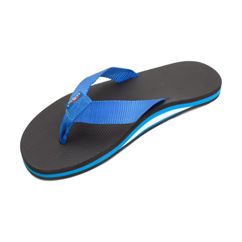 Rainbow Men's Single Layer Classic Rubber 2.0 Sandals BLU.BLK_BLBK