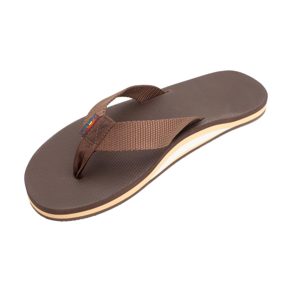 Rainbow Men's Single Layer Classic Rubber 2.0 Sandals BROWN_BRBR