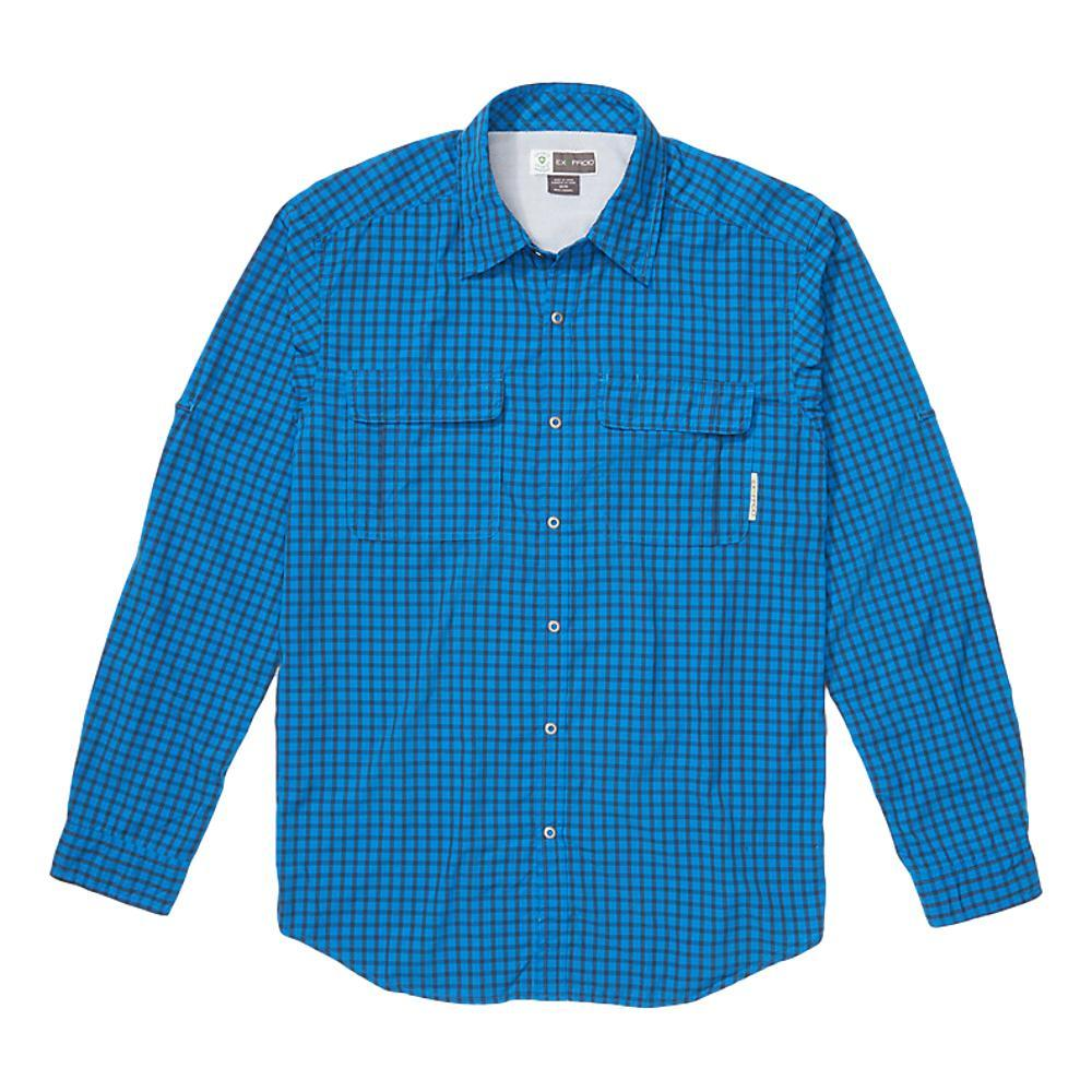 ExOfficio Men's BugsAway Halo Check Long Sleeve Shirt DKNAVY5870