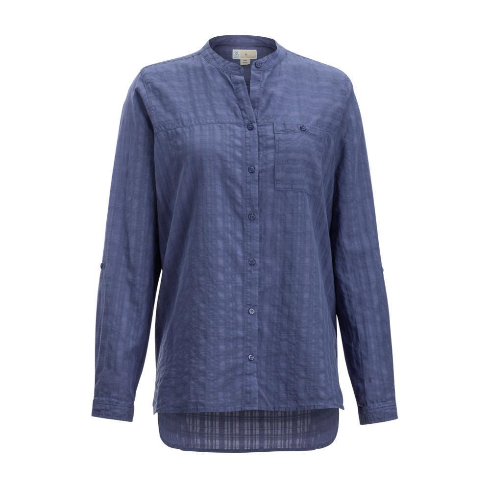 ExOfficio Women's BugsAway Collette Long Sleeve Shirt BLUEHERON