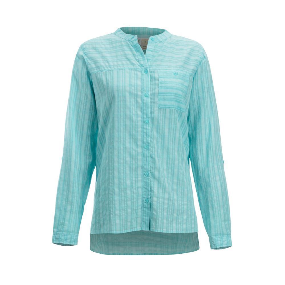 ExOfficio Women's BugsAway Collette Long Sleeve Shirt MYSTICBLUE
