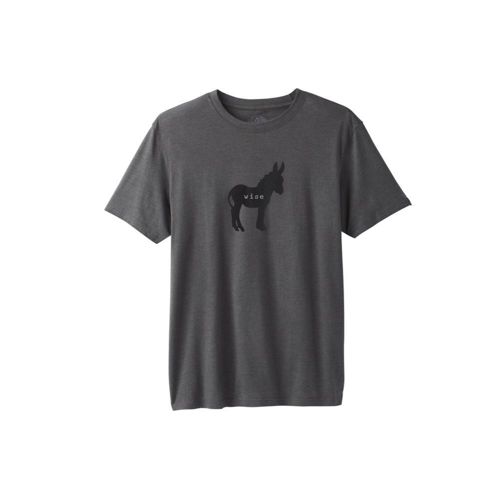 prAna Men's Wise Ass Journeyman T-Shirt CHARCHTH