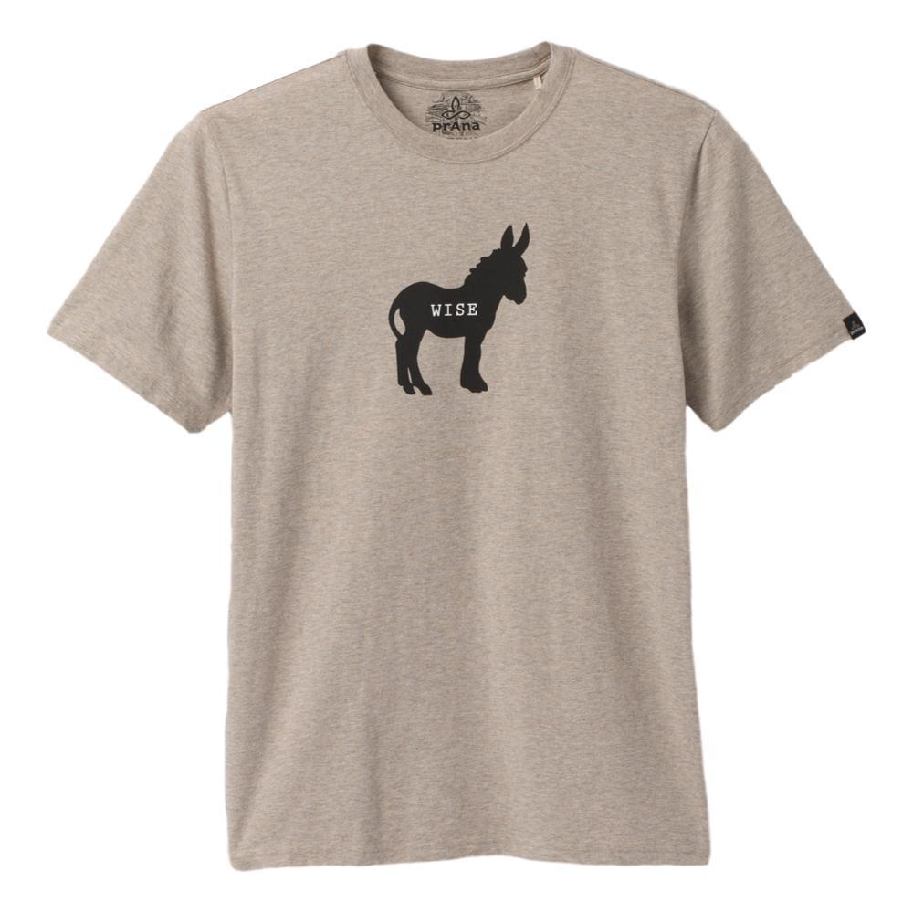 prAna Men's Wise Ass Journeyman T-Shirt KHAKIH