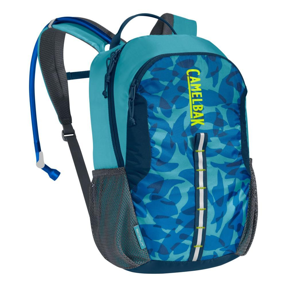 CamelBak Kids Scout Hydration Pack MAUIBLUE