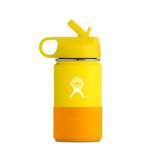 Hydro Flask Kids 12oz Wide Mouth Bottle Lemon