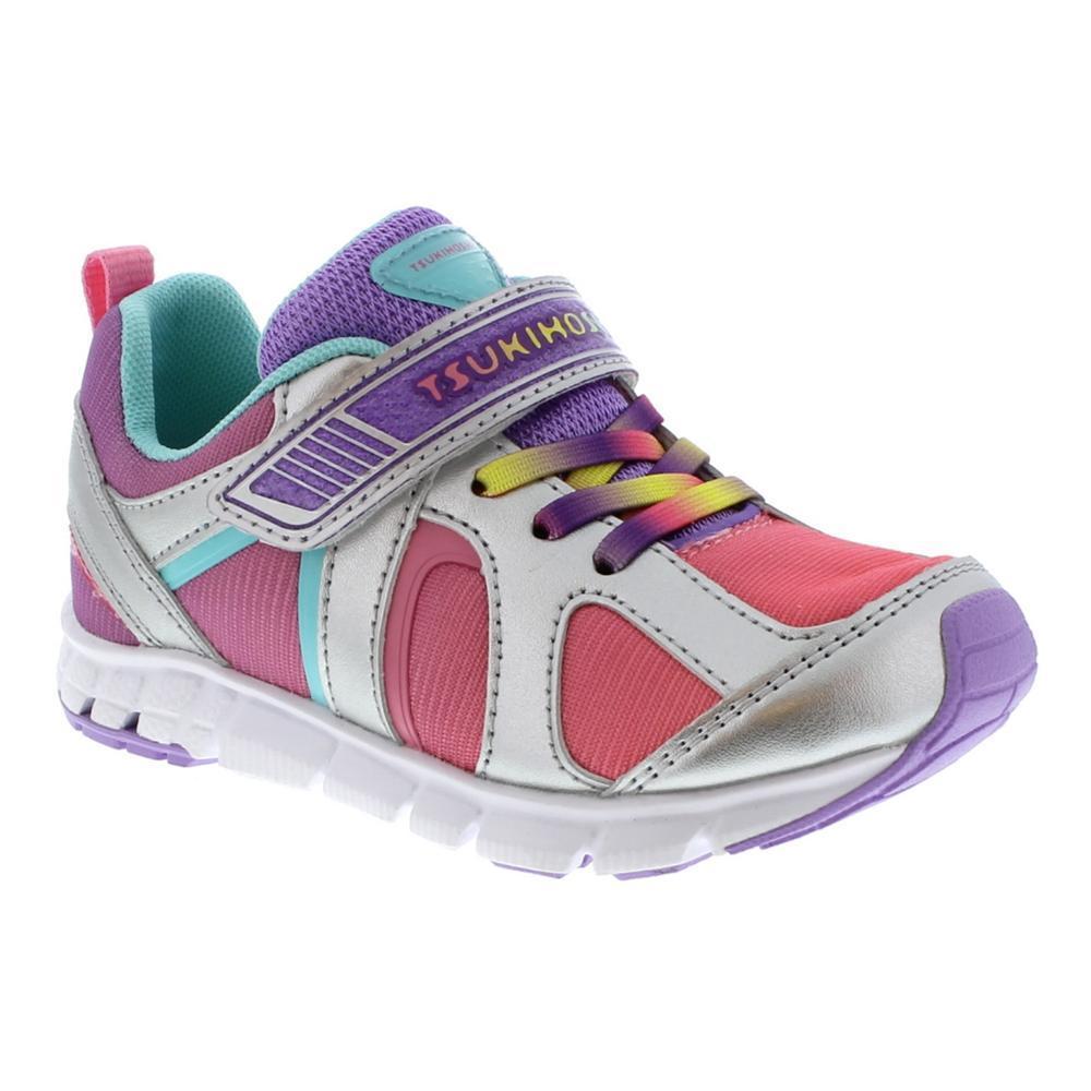 Tsukihoshi Kids Rainbow Sneakers SILV049