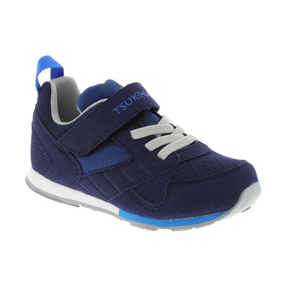 Tsukihoshi Kids Racer Sneakers NVYBLU415