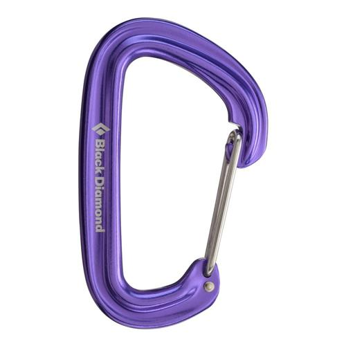Black Diamond Neutrino Carabiner Purp