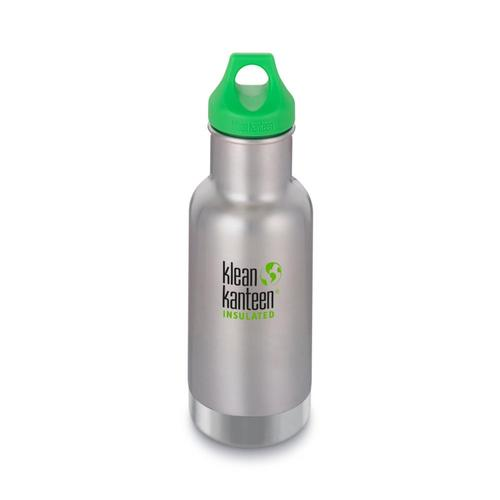 Klean Kanteen Kid Classic Insulated Bottle - 12oz Brushedstn