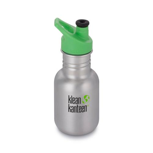 Klean Kanteen Kid Classic Sport Bottle - 12oz Brushedstnl