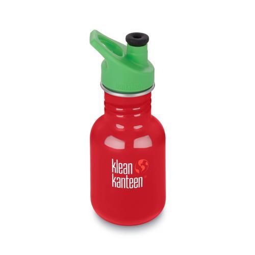 Klean Kanteen Kid Classic Sport Bottle - 12oz Mineralred