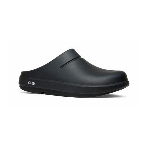 OOFOS Women's OOcloog Matte Clogs Black