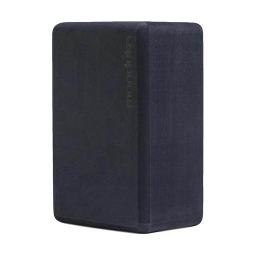 Manduka Recycled Foam Yoga Block - Midnight Midnight
