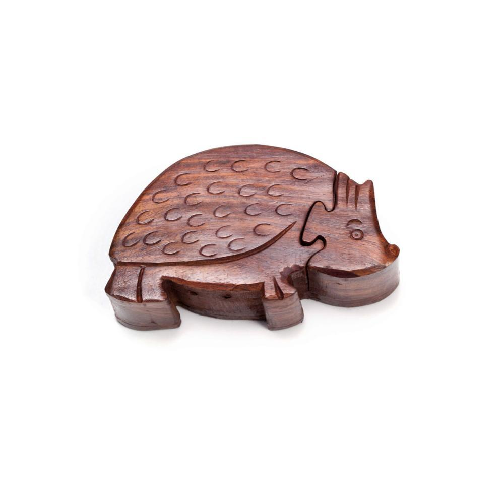 Matr Boomie Hedgehog Puzzle Box FAIRTRADE