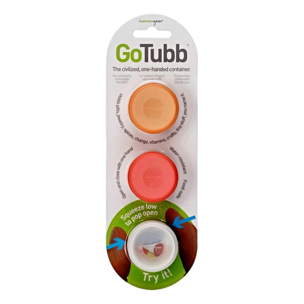 humangear GoTubb - 3-Pack CLR/ORG/RED