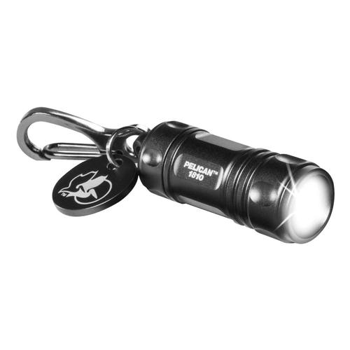 Pelican 1810 LED Keychain Light Black