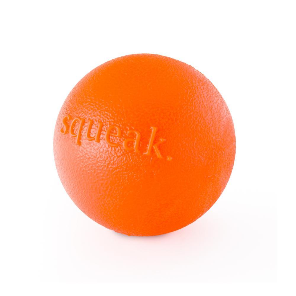 Planet Dog Orbee-Tuff Squeak Ball Dog Toy ORANGE