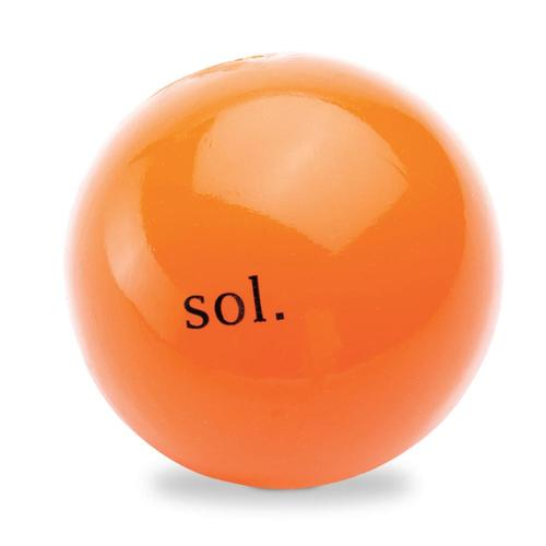 Planet Dog Orbee-Tuff Sol Ball Dog Toy Orange