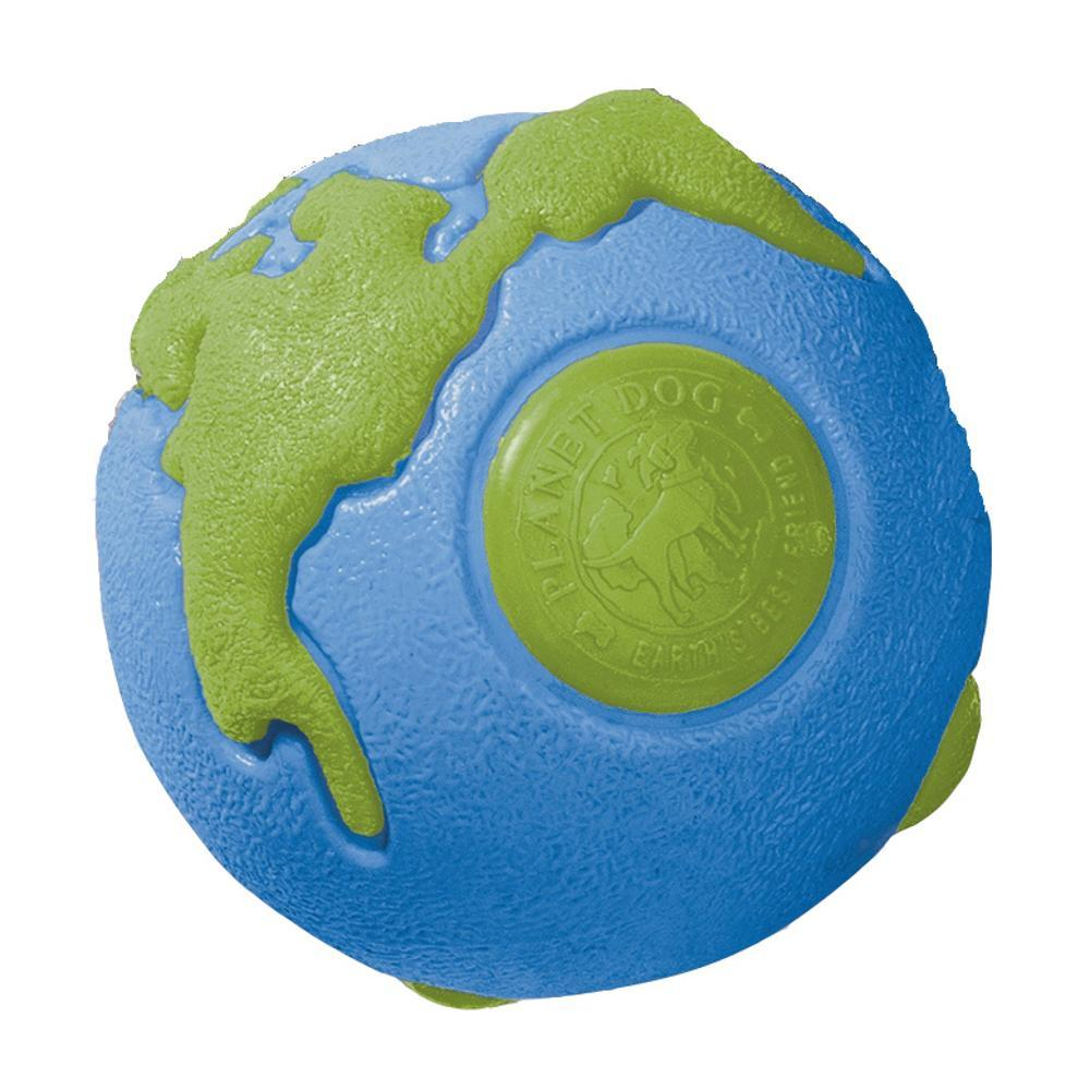 Planet Dog Orbee Earth Ball - Medium BLUE/GRN