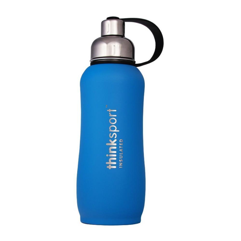 Thinksport Insulated Sports Bottle Powder Coated - 25oz LT._BLUE