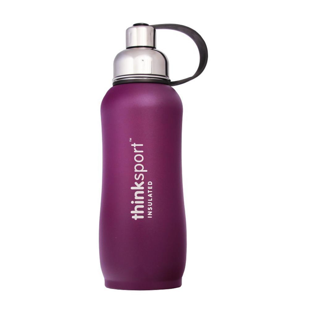 Thinksport Insulated Sports Bottle Powder Coated - 25oz PURPLE