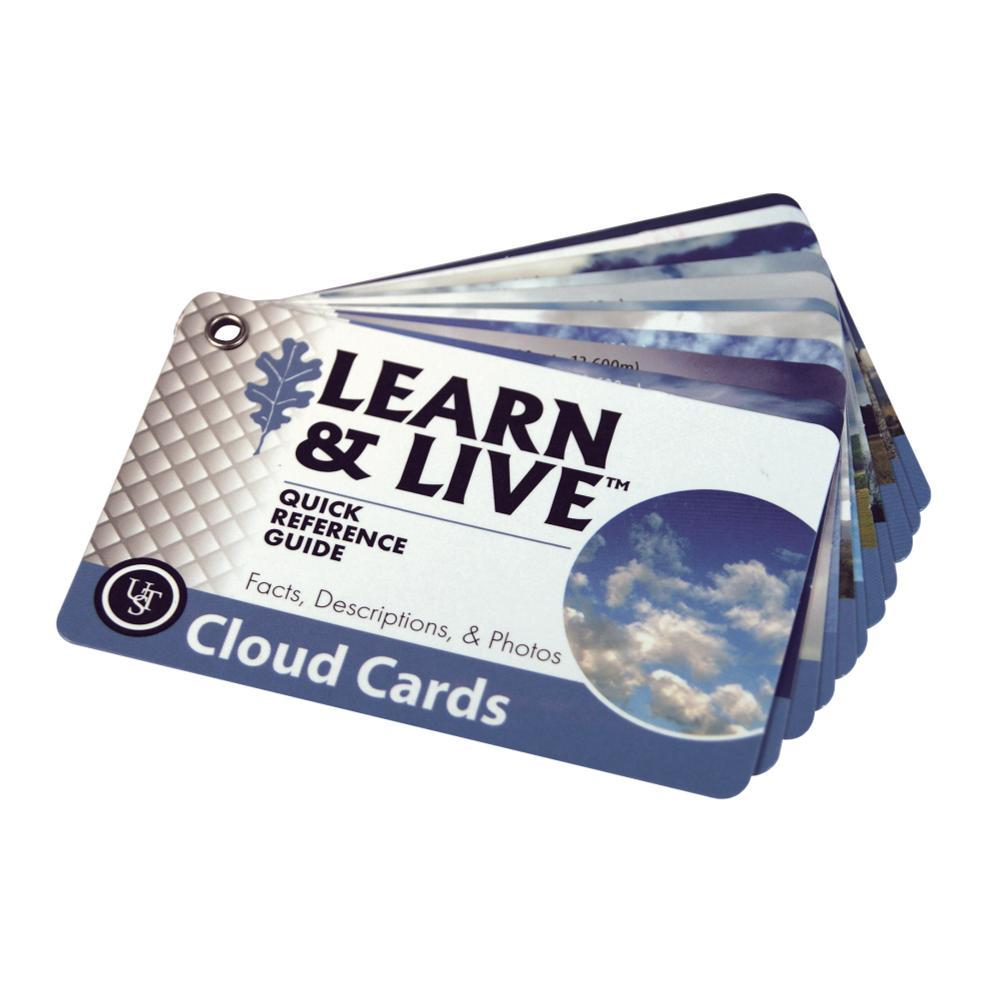 Ultimate Survival Technologies Learn & Live Cards - Clouds BLU/WHT